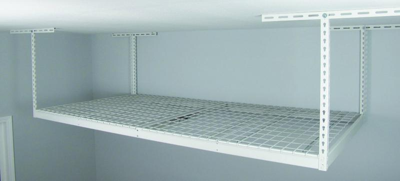 Overhead Garage Storage Rack - Safe Ceiling Drop Racks
