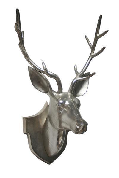 Wall Mounted Metal Reindeer Head
