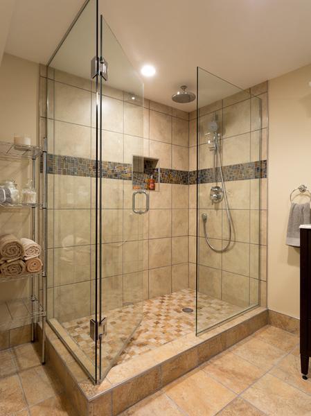Basement Bathroom Remodel - Bath Remodel on Low Budget
