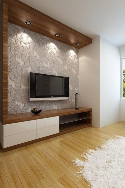 Laminated Design Led Tv Wall Hyd : LED TV Panels designs for living room and bedrooms