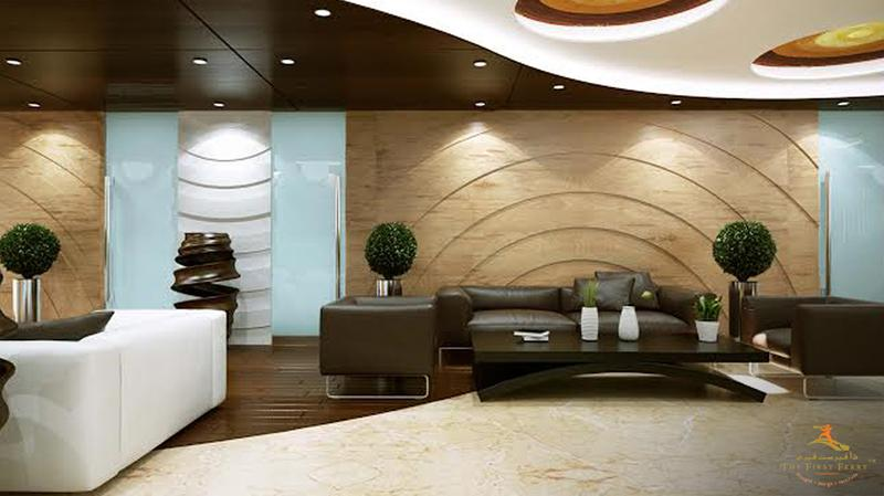 corporate lounge design