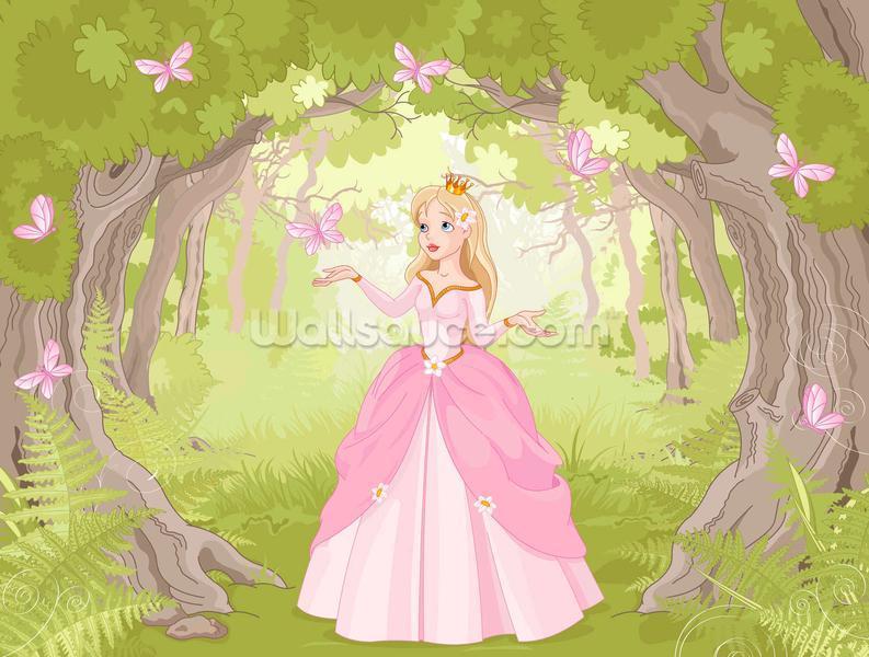 Princess in Enchanted Woodland