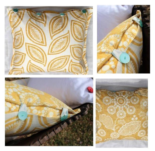 Maize Moder Leaf - Pillow Cover