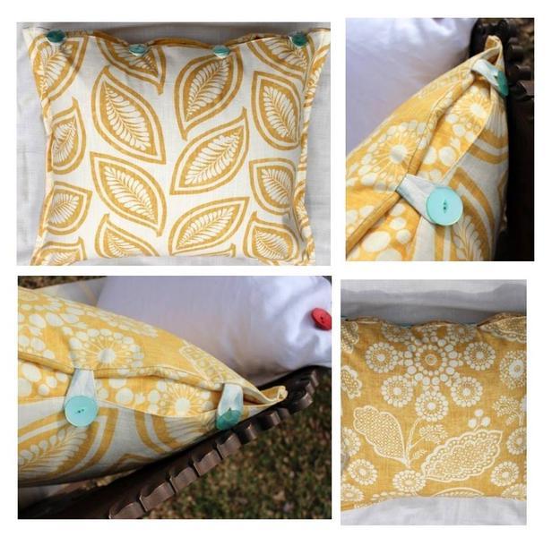 Maize Moder Leaf - Pillow Cover