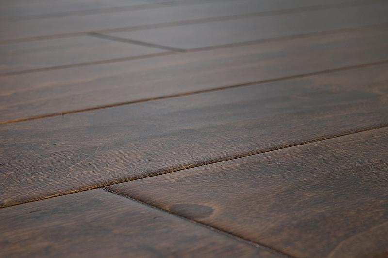 "FREE Samples:  Jasper Engineered Hardwood - Handscraped Birch Collection Birch - Texas brown / 5"" / 1/2"" / Random Lengths"