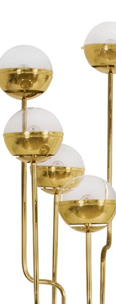 NIKU | FLOOR LIGHT - GOLD PLATED