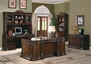 Rich Brown Home Office Credenza by Coaster