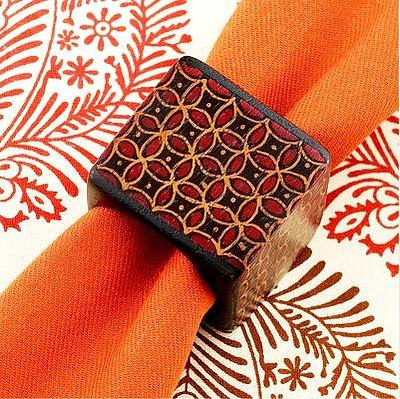 Decorative Napkin Rings: 'Jewelry' for Your Napkins and Table