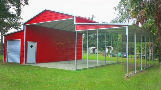 Easy to Assemble Metal Carport Kits - Metal Carports Direct