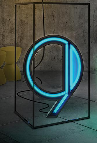 NUMBER NEON LAMPS | GRAPHIC LAMP COLLECTION