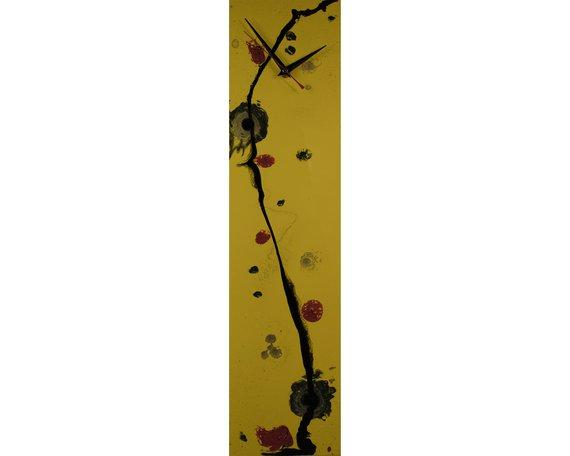 Yellow Clock Modern Decor Yellow Wall Clocks For Wall Modern