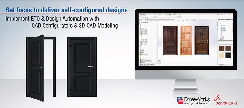 Adopting CAD Configurator for Custom Doors to Achieve Right Design Mix
