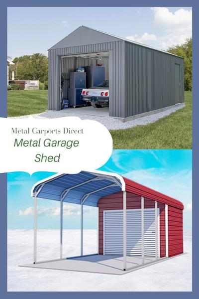 Improves Home Value with Metal Storage Building