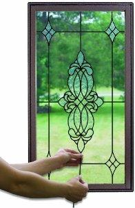 "Brewster 93814 Brewster Stained Glass ""Caming Lines"", 6-Foot, Black: Home Improvement"