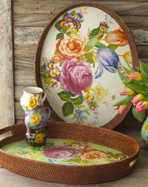 MacKenzie-Childs Flower Market Tray