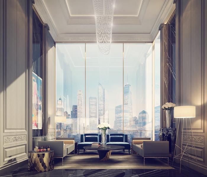 Penthouse Sitting Room Design