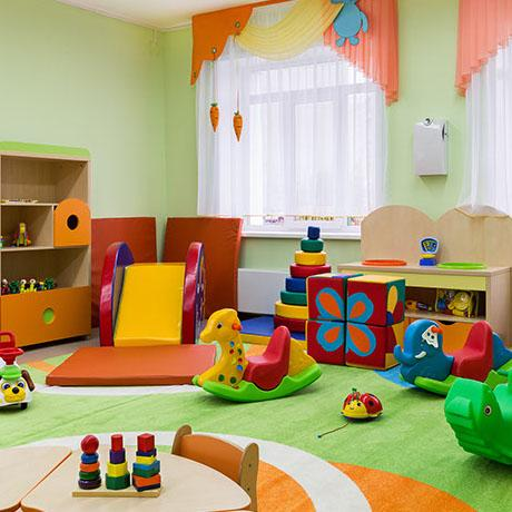 Preschool play school or childcare interior design tips for Home interior design schools 2
