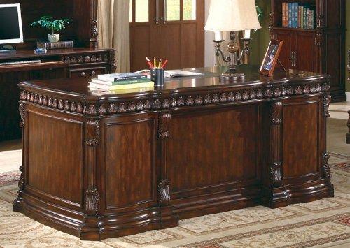 Coaster Fine Furniture Executive Desk with Computer Storage