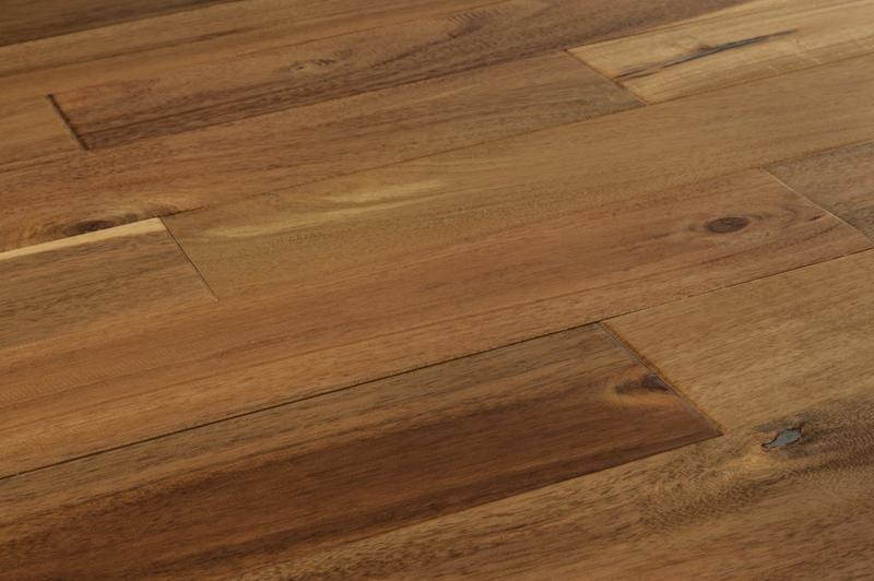 Mazama Hardwood - Handscraped Acacia Collection Chai Beige / Acacia / Builders / 4 4/5""