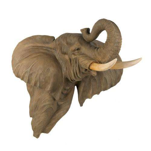 Elephant Wall Decoration - The African Decor