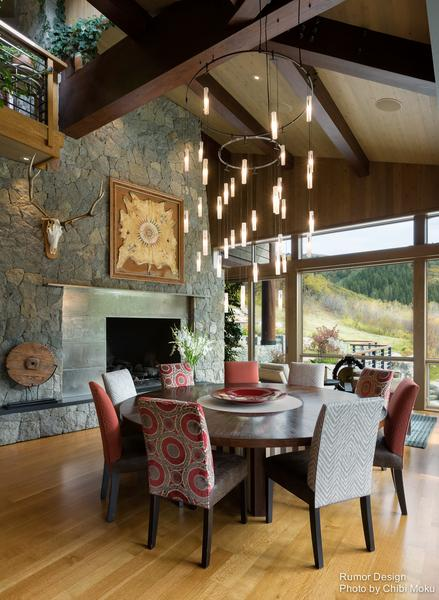 House Tour of Graystone Canyon in Steamboat Springs, Co Designed by Rumor Design