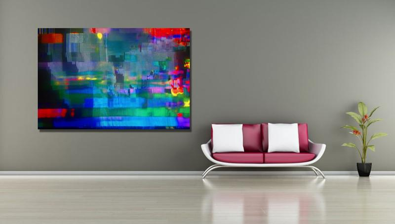 "JOURNEY 44 - 30""X20"" - 50cmX76cm - contemporary Art"