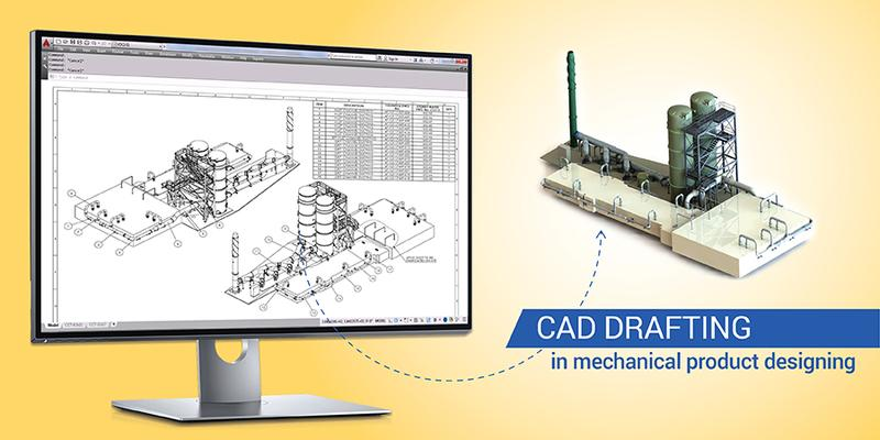 The Role of CAD Drafting Services in Mechanical Product Design