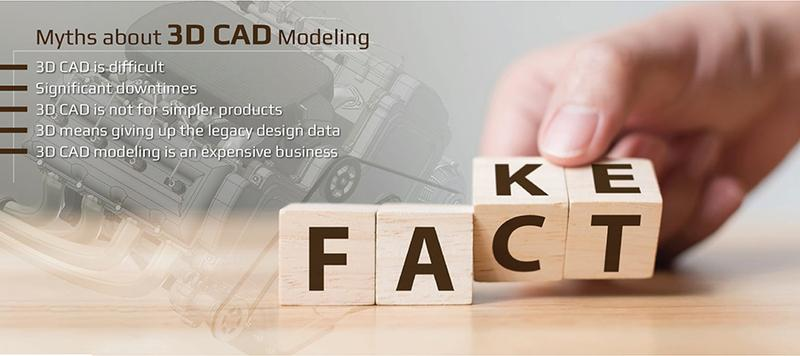 What is Keeping Manufacturers from Shifting to 3D CAD?