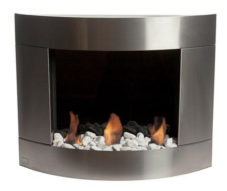Bio-Blaze® Diamond 1 Biofuel Wall Fireplace