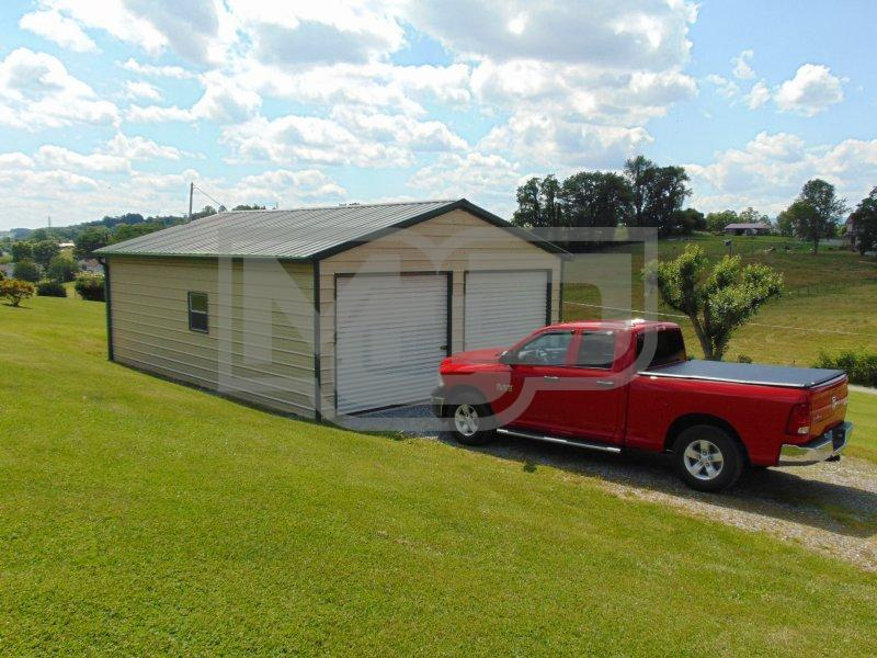 Get Durable Metal Garages with Side Entry at Metal Carports Direct