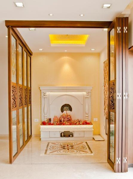 Home temple interior design images for Home mandir designs marble