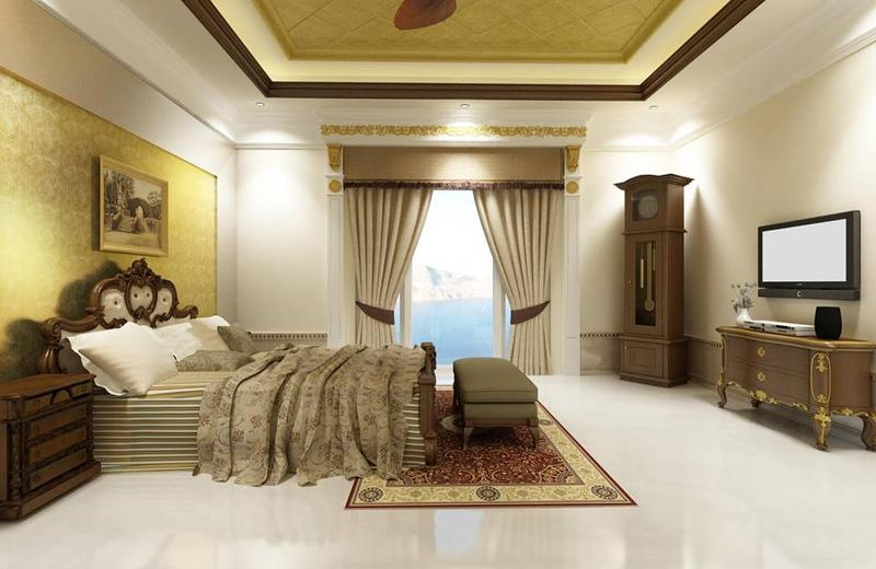 Modern to classic master bedroom designs for Classic master bedroom ideas