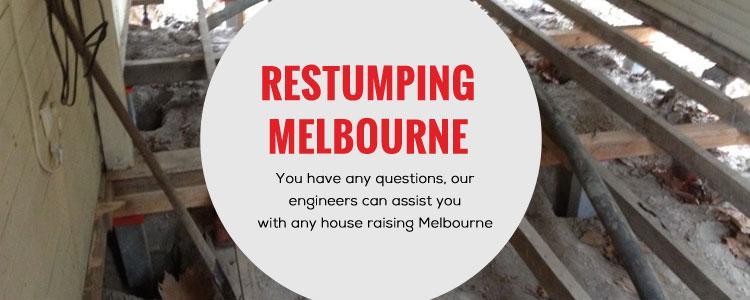 Restumping Melbourne