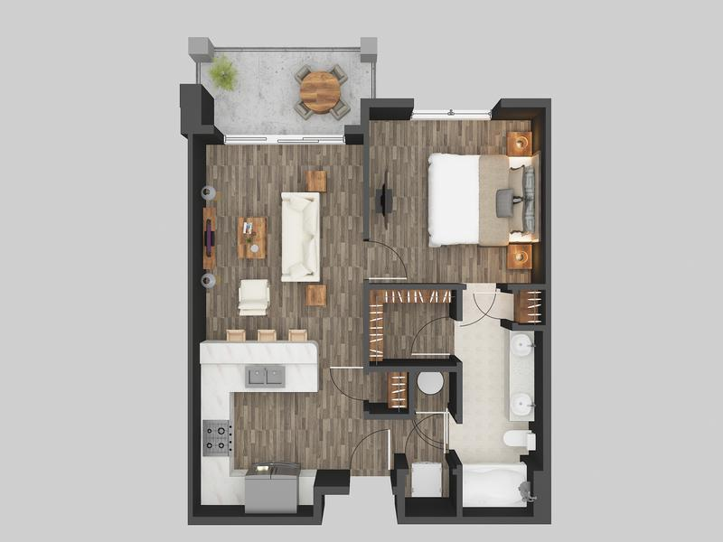 House 3D Floor Plan Rendering Services