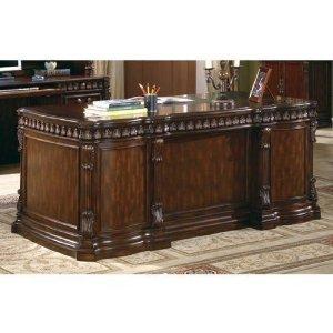 Coaster Fine Furniture 800800 Executive Desk with Computer Storage - Home Office Desks