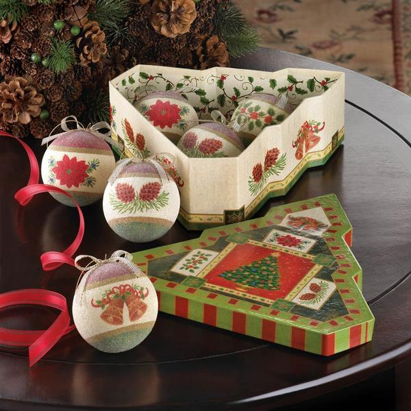 Christmas Tree Ornament Set In a Box