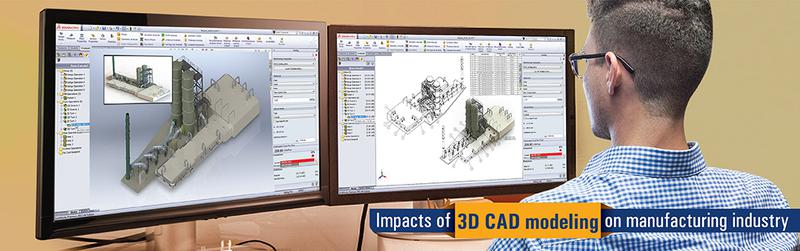 Benefits of 3D CAD modeling to Manufacturing Industry