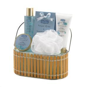 Night Rose And Sandalwood Bath Gift Set