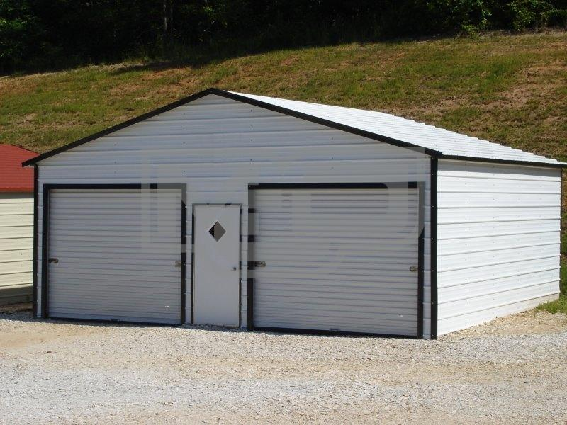 2-Car Metal Garages for Sale at Lowest Prices in North Carolina