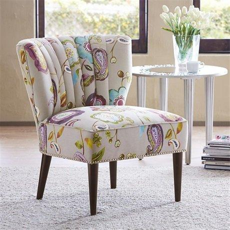 "Madison Park Korey Chair - Multi - 27.5Wx30Dx32H"" -"