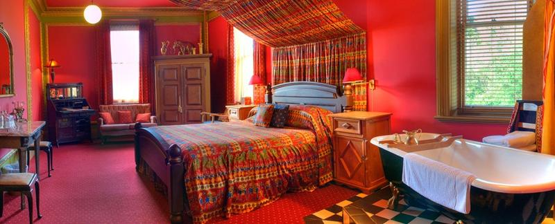 Indian inspired decor theme bright colors bollywood style for Indian themed bedroom