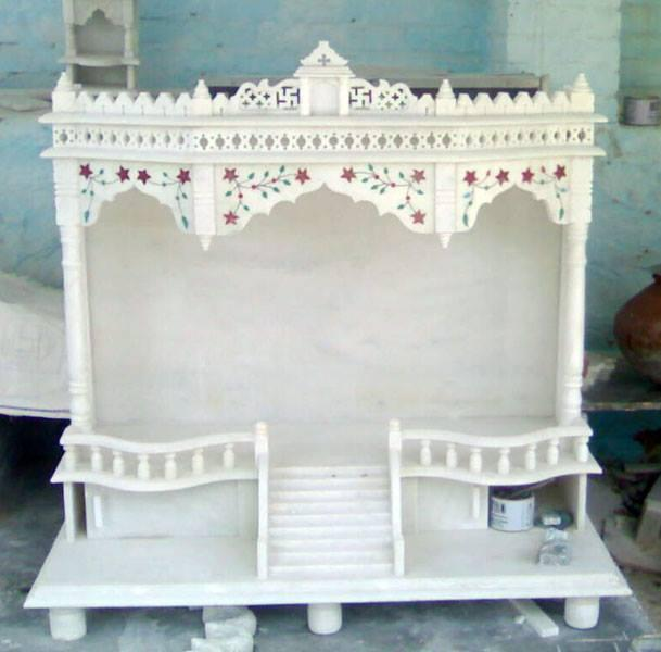 Marble Inlay Temple Work