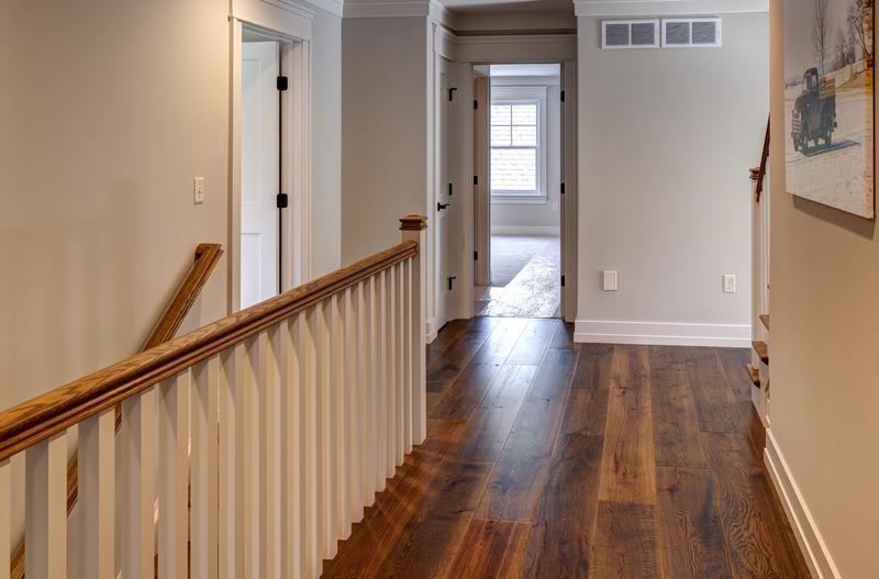 Display of Hardwood Floors in PA Street of Dreams