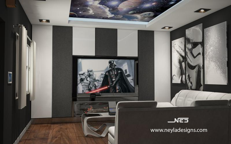 Media Room Interior Design