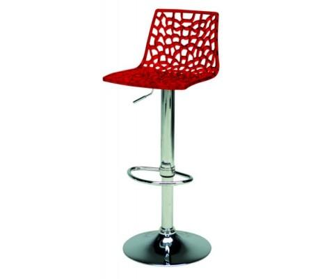 Spider Bar Stool in Red by VIG Furniture