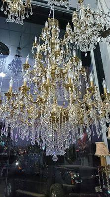 Crystal Bronze Chandeliers 45 Lamps