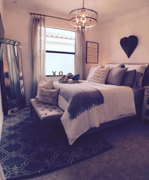 Tranquil rustic charming guest bedroom designed with for Passionate bedroom designs