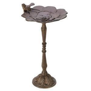 Rustic Iron Birdbath To Attract Flocks Of Visitors To The Garden