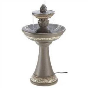 Impressive Courtyard Fountain - In Mosaic Finish