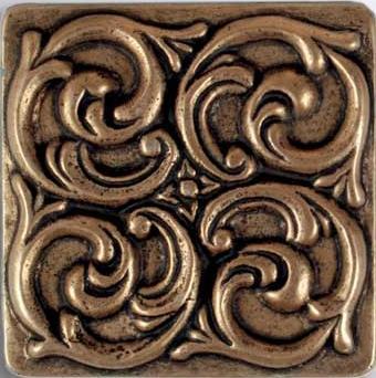 Cast Metal 4 x 4 Cyclone Insert Bronze